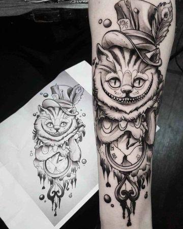 3 Tatuajes De Gatos Para Mujer Negros Y Uno Divertido En 2020