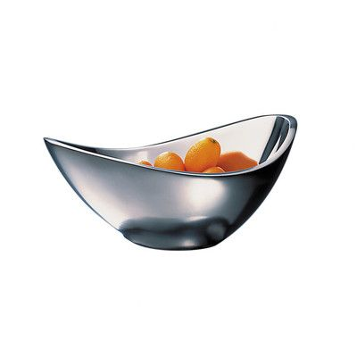 Nambe Butterfly Fruit Bowl Size: