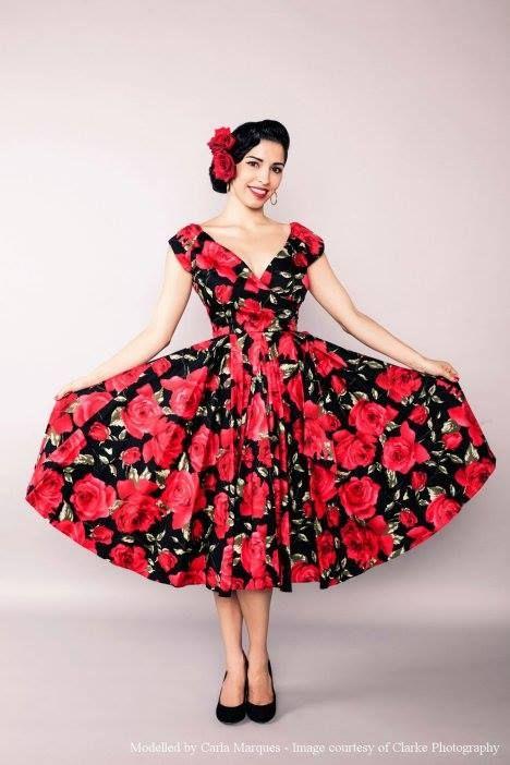 Brand of the Day: Dovima ╰▶ http://pinup-fashion.de/?p=9757  #blackdress #dress #fashion #pencildress #dovima #vintage #retro #vintagefashion #retrofashion