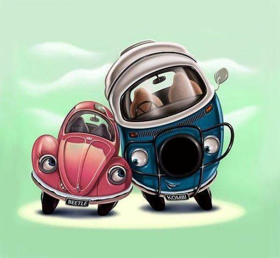 Volkswagen Beetle & Kombi love