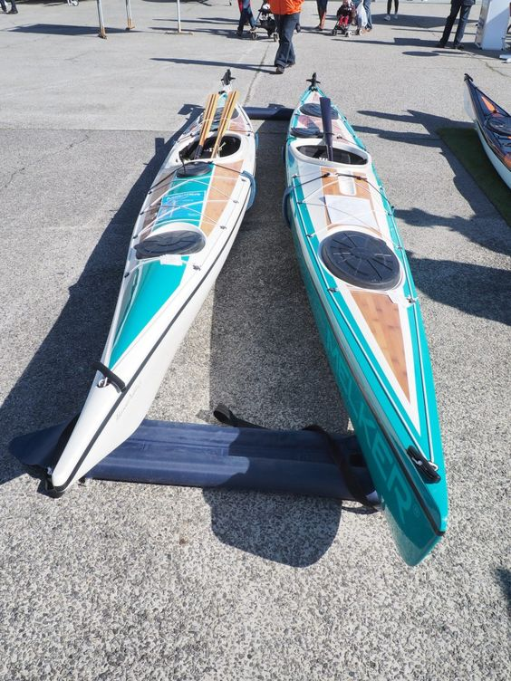 Retour sur le Salon nautique de Lorient - Advanced Paddles #mer #sea #kayak