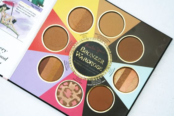 Too Faced Little Black Book of Bronzers Wardrobe // Chocolate Bunnies Leopards and Summer   beauty beauty reviews bronzer face too faced