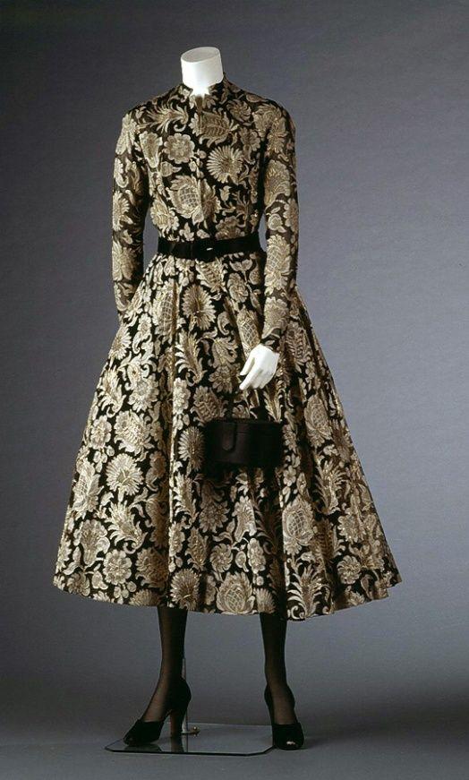 Christian Dior Cocktail Dress Created: 1948 Christian Dior ...