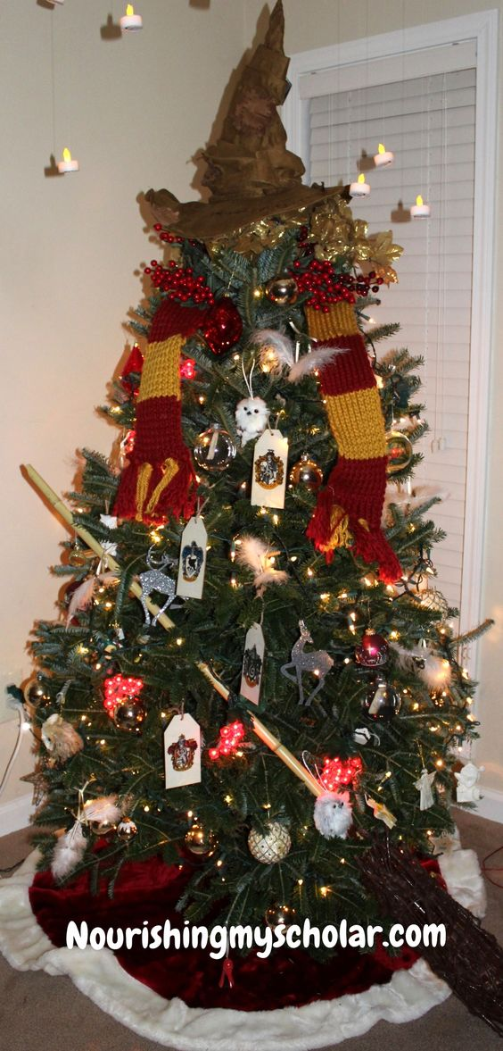 15 harry potter christmas decor ideas primp my pad