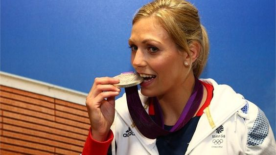 Team GB Women's-78kg Judo silver medallist Gemma Gibbons poses with her silver medal at Team GB House in Stratford on 2 August 2012