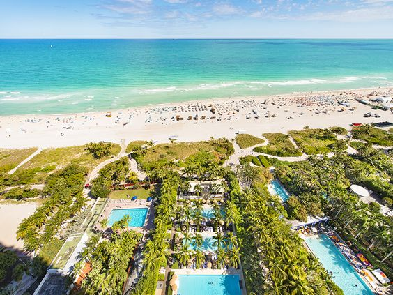 Balcony View | Unit #2807 | The Setai Miami | 101 20th St, Miami Beach, FL | #MiamiBeach #RealEstate