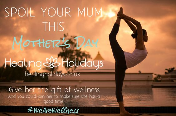 Spoil your mum on Mother's Day (30th March 2014) and treat her to a a wellness retreat. Speak to one of our spa specialist today on 020 7843 3597 or email at info@healingholidays.co.uk