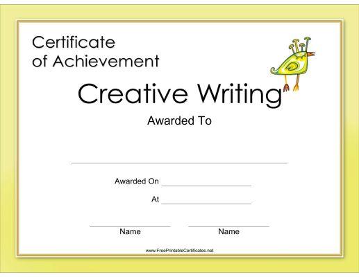 faut il citer documents dissertation Creative Writing Certification Exam