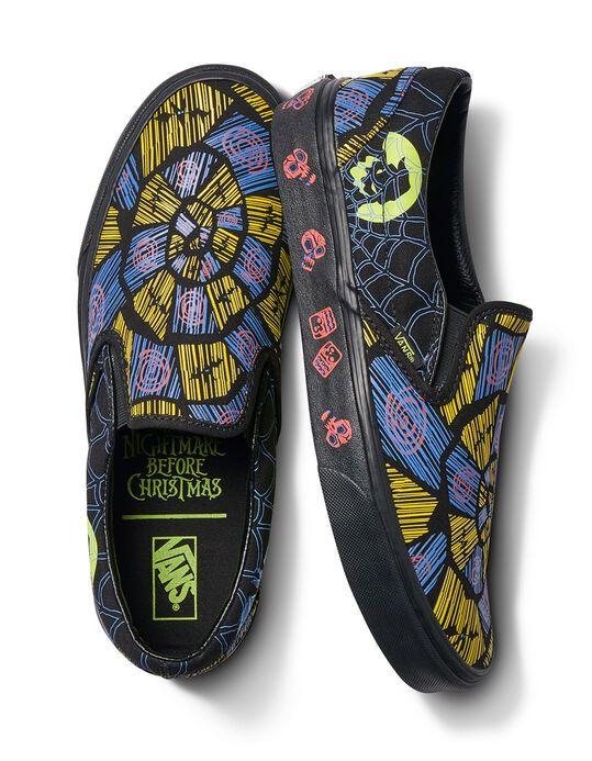 Vans X The Nightmare Before Christmas Slip On Oogie Boogie Shoes Multi 356932957 Boogie Shoes Slip On Shoes Slip On Sneakers