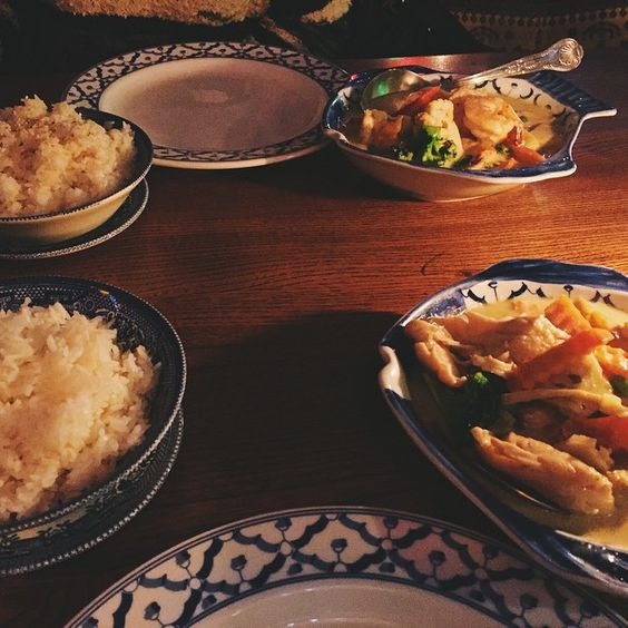 I love Thai food 😍😍. Dinner date with my babe @selengei