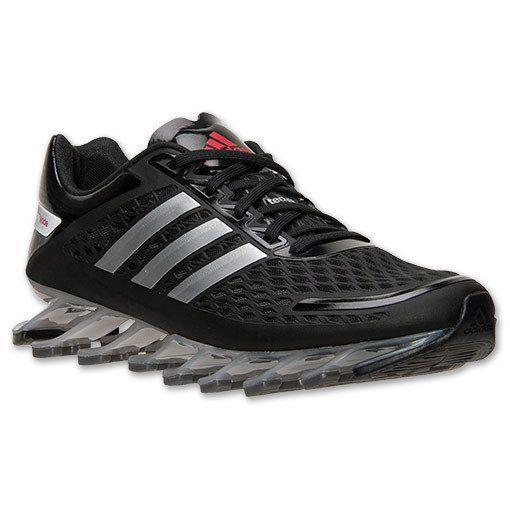NEW ADIDAS SPRINGBLADE RAZOR Running MENS 10.5 Black Silver NWT $180 #Adidas #RunningCrossTraining