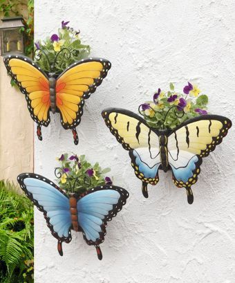 3 butterfly planters 24.99  healthylivingdirect.com