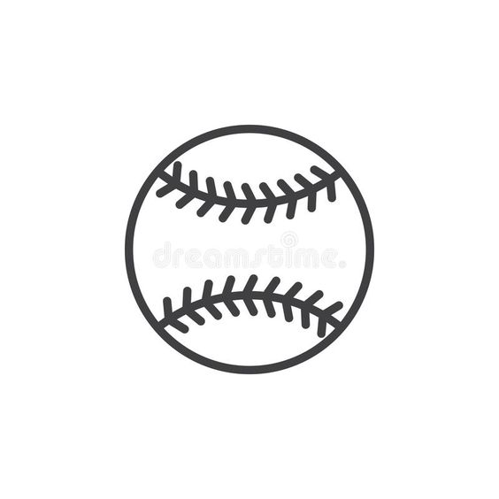 Baseball Ball Line Icon Outline Vector Sign Linear Style Pictogram Isolated On Affiliate Sign Vector Style Line Pictogram Line Icon Baseball Balls