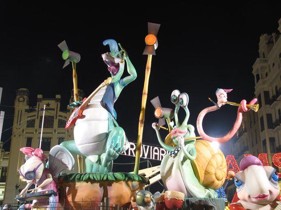 falla Xátiva,Valencia