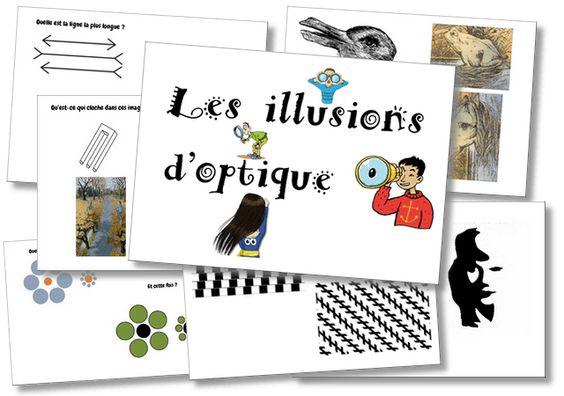Les illusions d'optique – Cycle 3 | la maîtresse a des yeux dans le dos