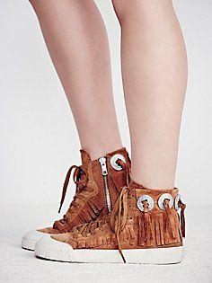 Desert Fringe Sneaker