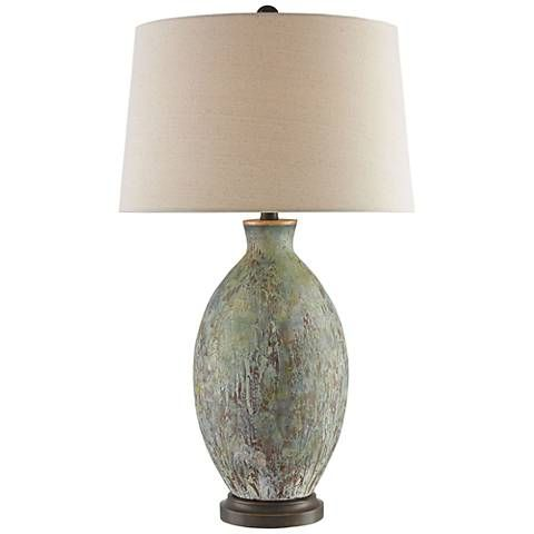 Currey And Company Remi Green Drip Bronze Table Lamp 9r174 Lamps Plus Bronze Table Lamp Gold Table Lamp Table Lamp
