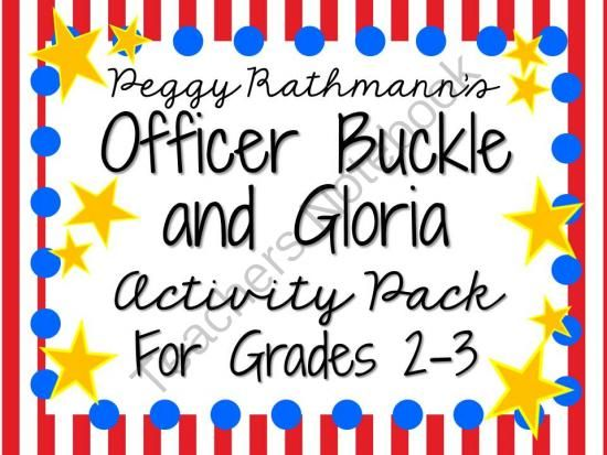 Officer Buckle And Gloria Activity Pack For Grades 2 3
