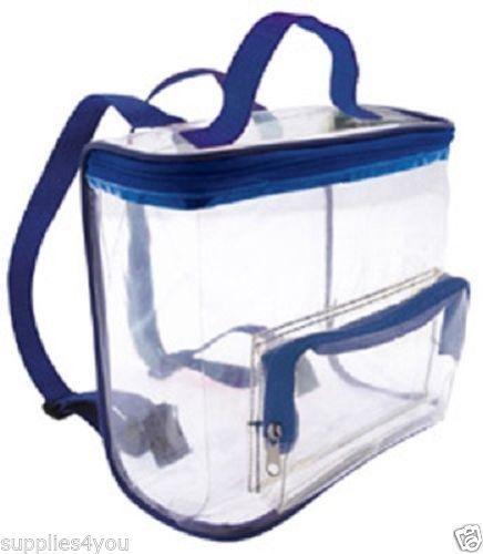 Stadium Lights Ebay: Details About CLEAR Backpack Bag Purse Tote Vinyl Black
