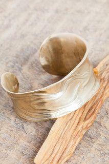 Leigh Miller Anticlast Bracelet in Brass