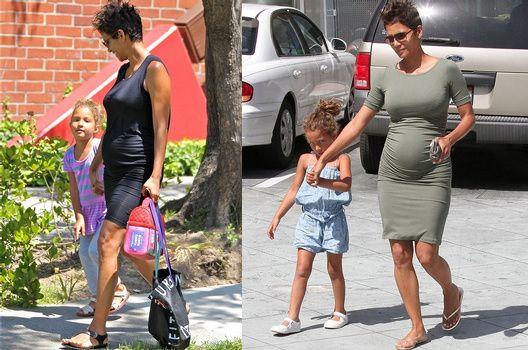 Actuellement enceinte de son deuxième enfant, l'actrice Halle Berry semble vouloir faire rimer grossesse avec décontraction vestimentaire et pragmatisme casual en optant pour une garde-robe efficace, mettant sobrement en valeur ses nouvelles formes...