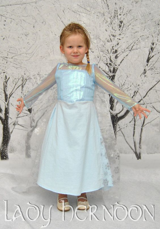 My Fairy Tale Elsa Dress from Disney's Frozen in by LadyHerndon