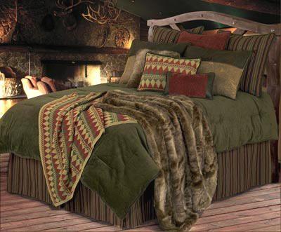 Rustic Bedding - Luxury Wilderness Ridge Rustic Bedding