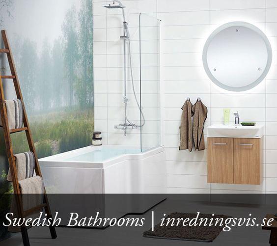 Bathroom. Swedish Bathrooms and Home decor  http   inredningsvis se