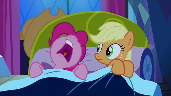 """I slept like a dead one""(Miller 71). It is a simile because there is 'like'. File:Pinkie Pie sleeping beside Applejack S5E13.png"