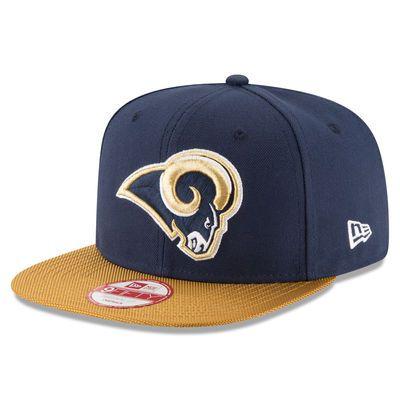 Los Angeles Rams New Era 2016 Sideline Official Original Fit 9FIFTY Snapback Adjustable Hat - Navy