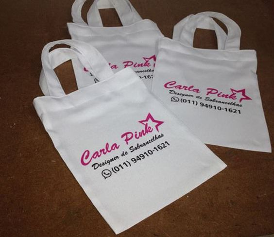 Ecobag personalizada. Estampamos a sua marca!!! Para quantidades e tamanhos, consulte-nos.  www.facebook.com/criattivapersonalizados