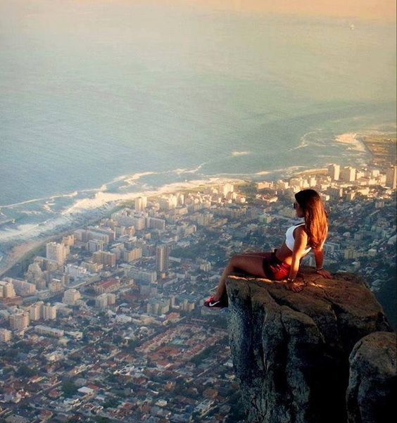 I don't believe i'll look as good as her, but I need a shot just like this in Cape Town, South Africa