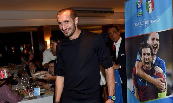 Italy Team Visit Casa Azzurri on Mangaratiba - 2014 FIFA World Cup