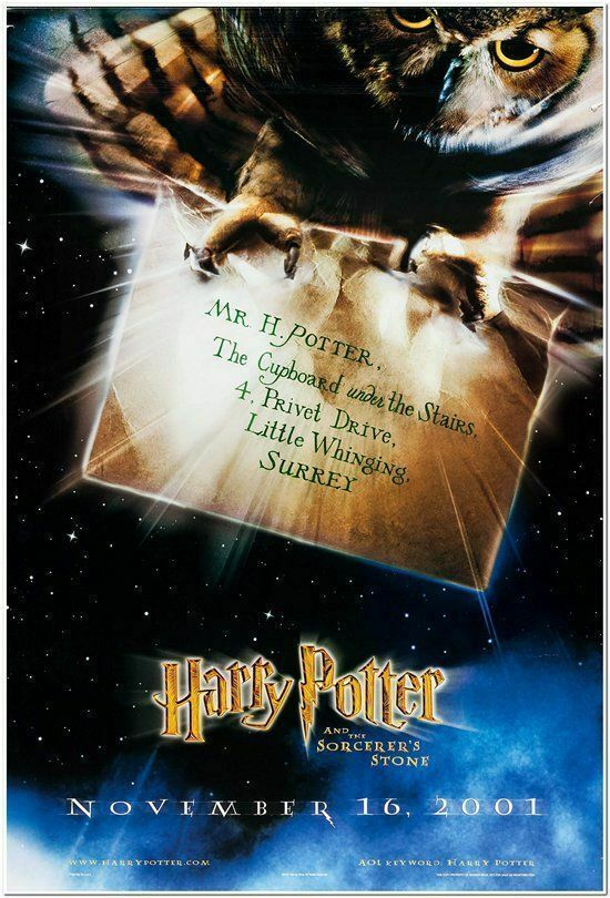 I Have This Poster Back In Stock Harry Potter Sorcerer S Stone