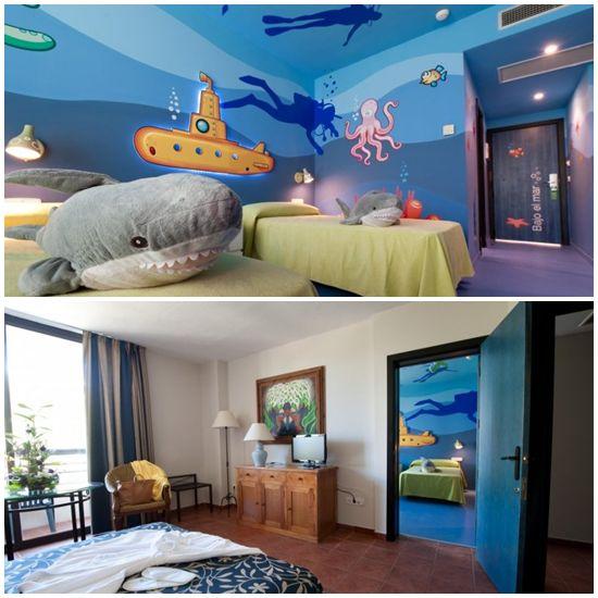 Un Hotel con Habitaciones Temáticas.Oasis Islantilla
