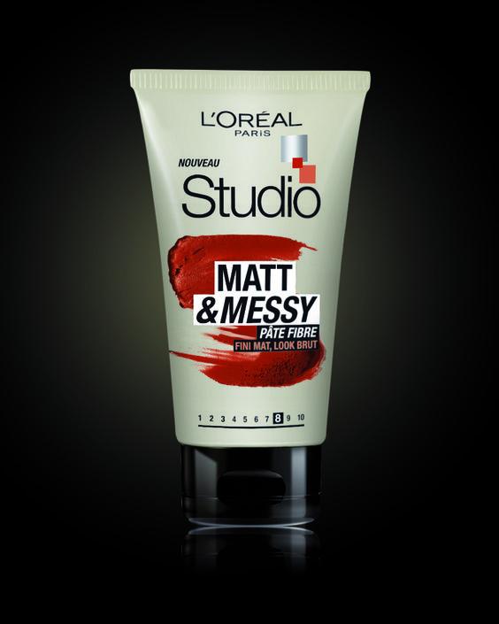 #pate Fibre Mat & Messy de Studioline par L'Oréal Paris #hair