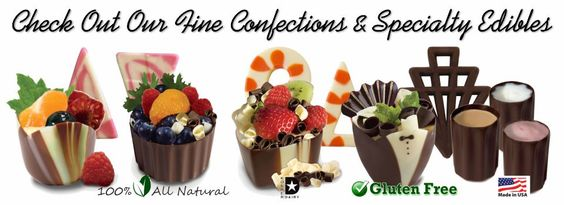 Kane Candy Chocolate Dessert Cups Quick & Easy ~ Simply Fill & Serve!   www.KaneCandy.com