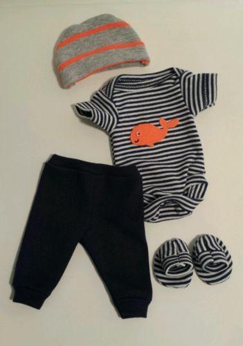 OOAK Baby Doll Clothes Bodysuit Tiny Miracle Mini Reborn