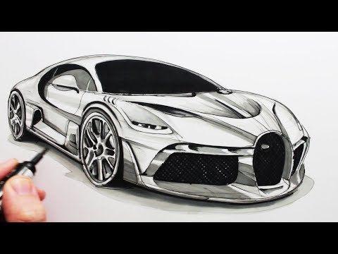 Circle Line Art School Youtube Car Drawings Cool Car Drawings Car Drawing Pencil
