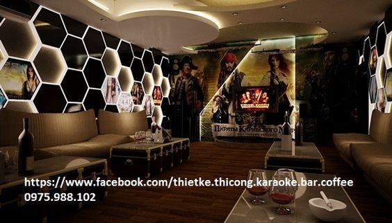 thiết kế karaoke