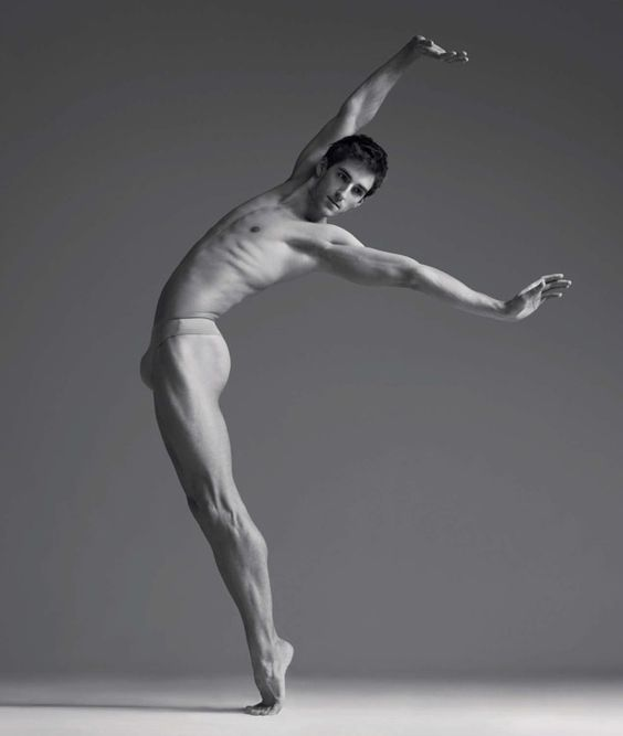 Vincent Chaillet of Le Ballet de l'Opéra de Paris / photo by Gregory Derkenne