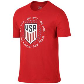 Nike  USA  Pride Soccer Tee (2016): http://www.soccerevolution.com/store/products/NIK_43264_A.php