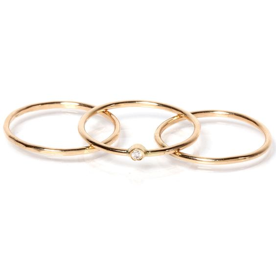 zoe chicco 14k gold knuckle rings adorn