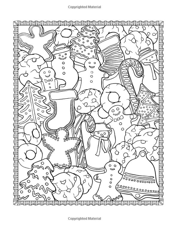Creative Haven ChristmasScapes Coloring Book (Creative Haven Coloring Books)…