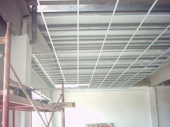 Perfiles de falso techo registrable techos comerciales - Falso techo registrable ...