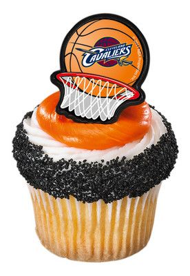 NBA Cleveland Cavaliers Cupcake Rings: