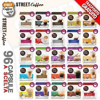 96 Capsule Cialde Dolce Gusto Nescafe Originali Nestle A Scelta Gratis 24 99 Anziche 42 41 Di Sconto Https Dolce Gusto Dolci Caffe Latte