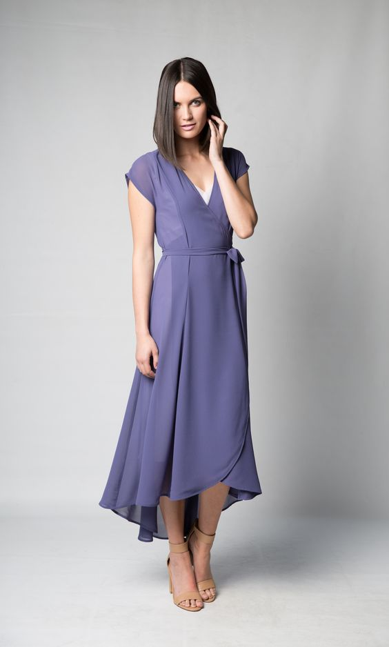 Gretchen dress ux ui designer summer wraps and purple dress for Purple summer dresses for weddings
