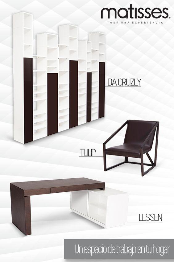 Crea un espacio de trabajo con mobiliario moderno c modo for Mobiliario moderno