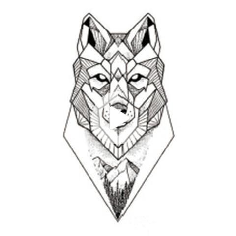 Geometric Wolf Tattoo Ideas For Women Wrist Unique Cool Animal Fox Forearm Tat Geometric Ideas In 2020 Geometric Wolf Geometric Wolf Tattoo Wolf Tattoo Design